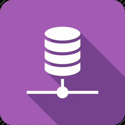data, network, share, storage icon