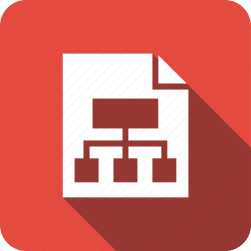 document, file, net, network, share icon