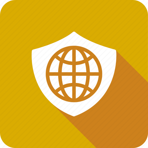 Global, globe, security, with icon - Download on Iconfinder
