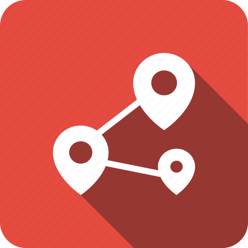 direction, gps, locate, locations, navigation, pins icon