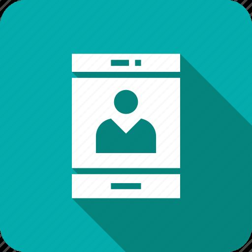login, mobile, user icon