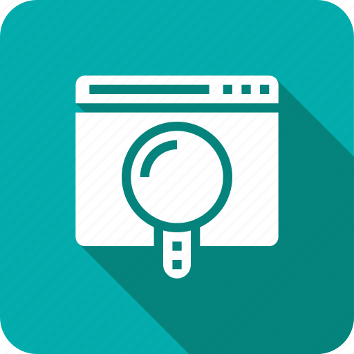 Glass, magnify, search, web icon - Download on Iconfinder