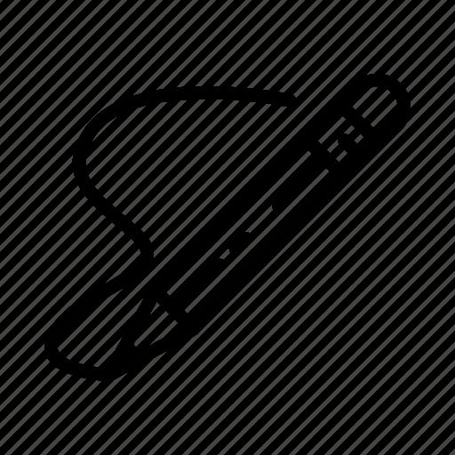 line, pen, pencil, photoshop, tool, web icon