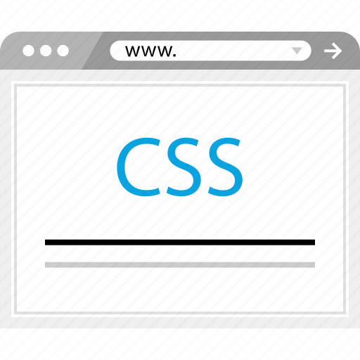 browser, css, internet, online icon