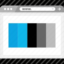 colorful, colors, combination, design icon