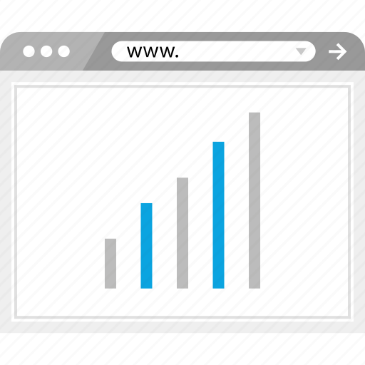analytics, bars, data, graphic icon