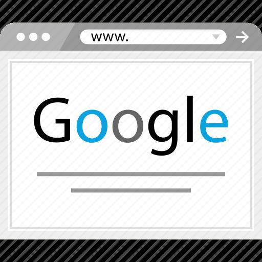 google, results, search, www icon