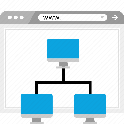 connect, connected, networking, www icon