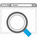 find, finding, in, look, magnifying, search, zoom icon