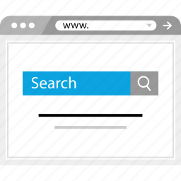 google, rank, results, search icon