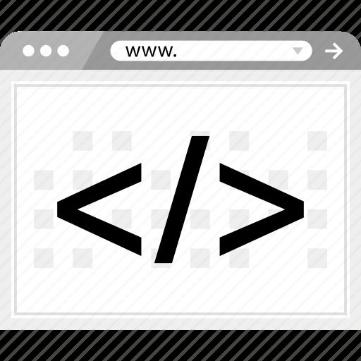 code, design, development, script icon