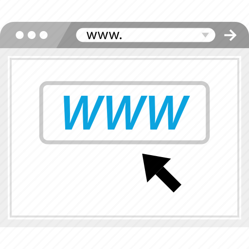backlink, click, marketing, www icon