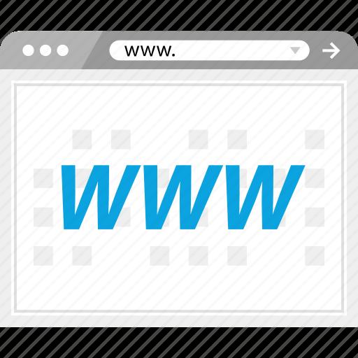 browser, internet, online, web icon