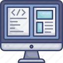 code, coding, computer, layout, monitor, screen, website