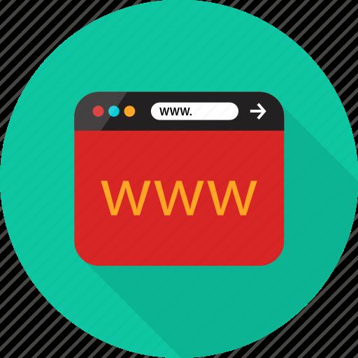 Browser, online, visit, web, website, www icon - Download on Iconfinder