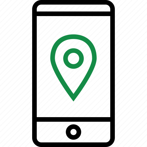 cell, gps, mobile, phone icon