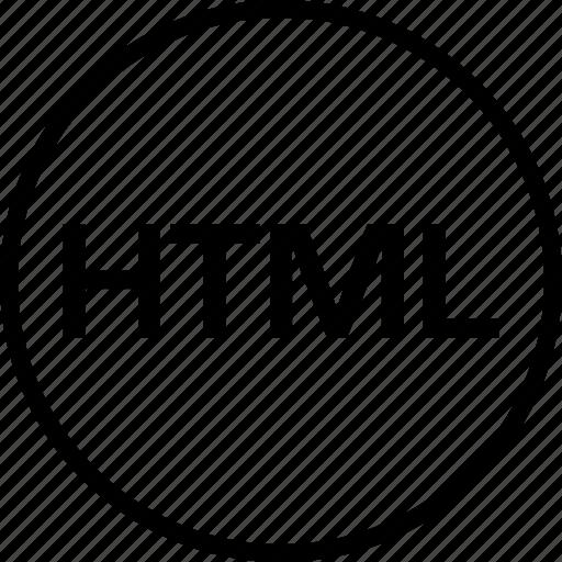 development, html, online, web icon