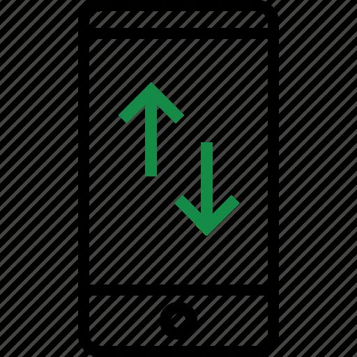 activity, arrows, internet, up icon