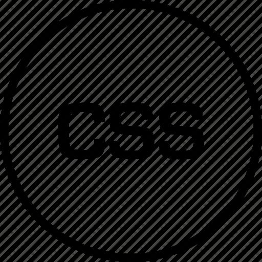 css, development, online, web icon