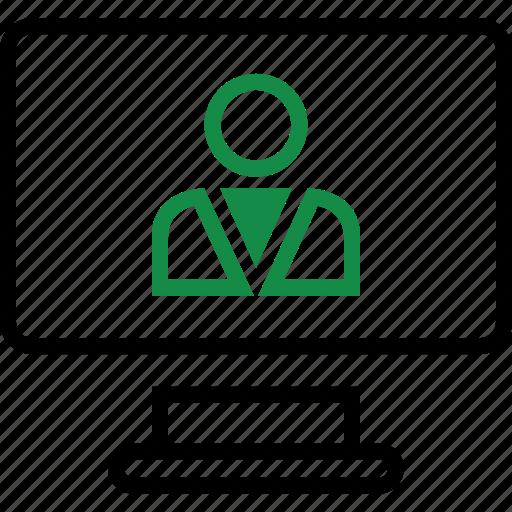 online, profile, seo, user icon