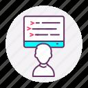 developer, full stack developer, tools, web, web design, web development icon