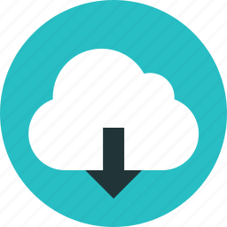 cloud, communication, computing, connection, data, download, global, network, server, upload icon