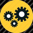 cog wheel, cogwheel, configuration, development, engineering, gear, gears, machinery, mechanical, teamwork, technical icon