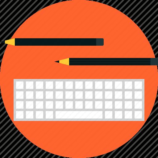 coding, design, keyboard, process, programming, prototyping, sketching, testing, writing icon