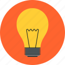 bulb, electric, electricity, idea, innovation, lamp, light, lightbulb icon