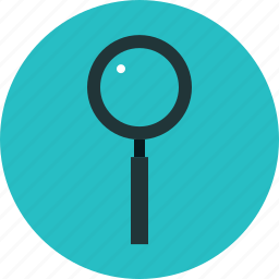 lens, magnifier, magnifying, research, search, seo, tool icon