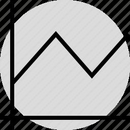 analytics, analyze, data, information icon