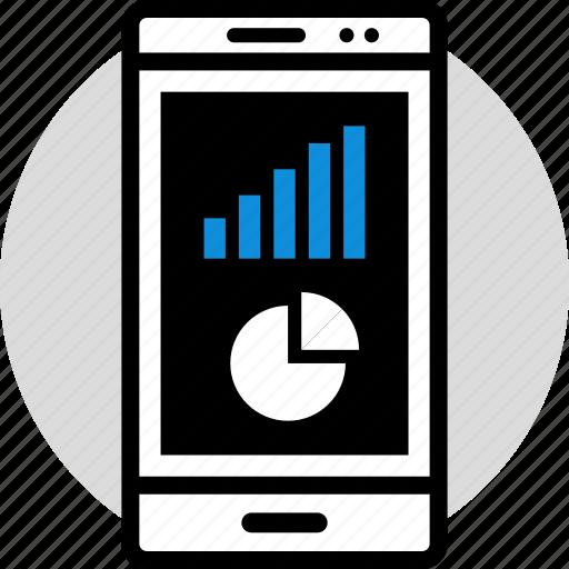 chart, data, information, pie icon