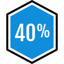 eighty, information, percent icon