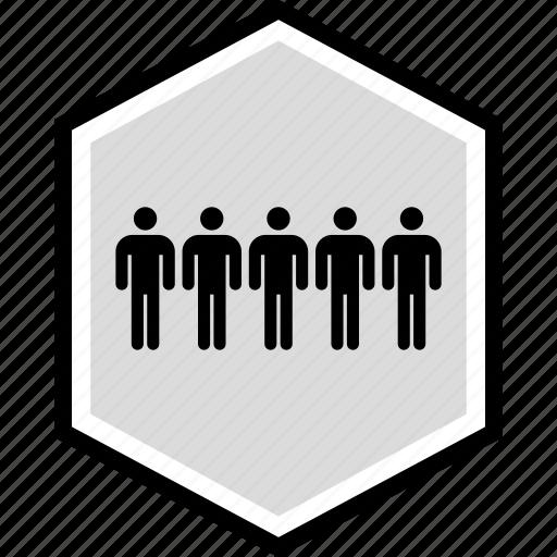 five, information, man, person icon