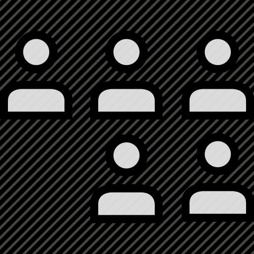 five, information, person, user icon