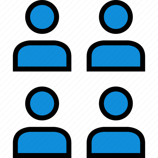 four, information, person, user icon