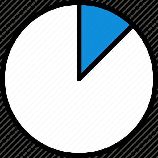 chart, graph, round icon