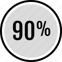 information, ninety, percent icon