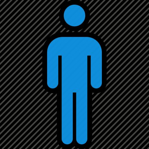 data, infographic, person icon