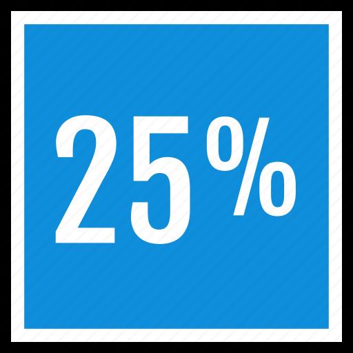 percent, seo, twentyfive icon