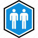 person, seo, two, users icon