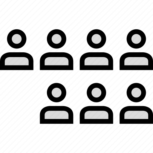 information, perosn, seven, users icon