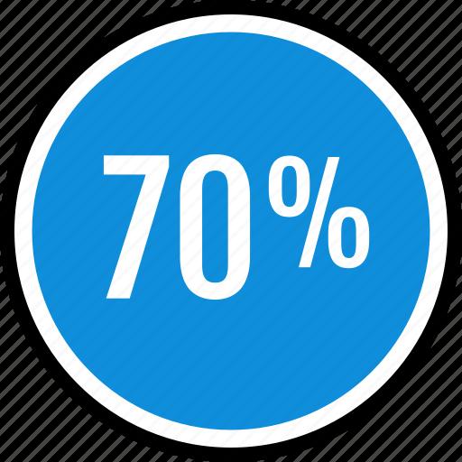 information, percent, seventy icon
