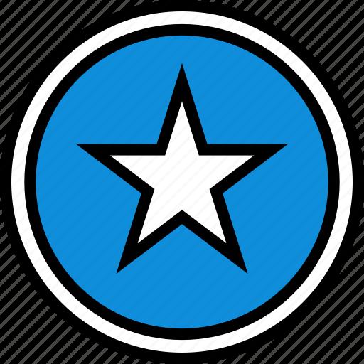 data, information, star icon