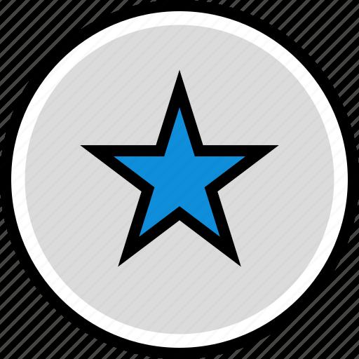 information, seo, stars icon