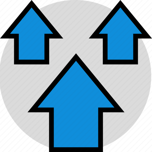 data, infographic, three icon