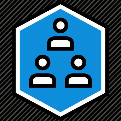 seo, three, users icon