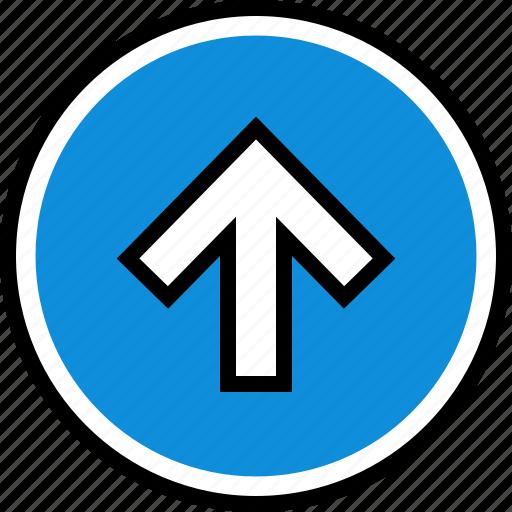 arrow, infographic, up icon