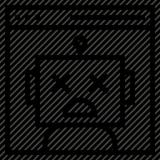 error, found, message, not, server icon