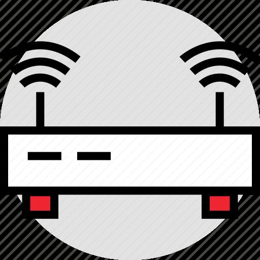 activity, antenna, double icon